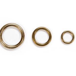 Solid Brass O-Ring